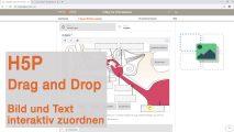Tutorial für H5P: Drag and Drop